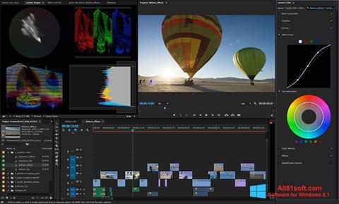 Képernyőkép Adobe Premiere Pro Windows 8.1