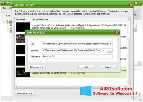 Képernyőkép Free Video Catcher Windows 8.1