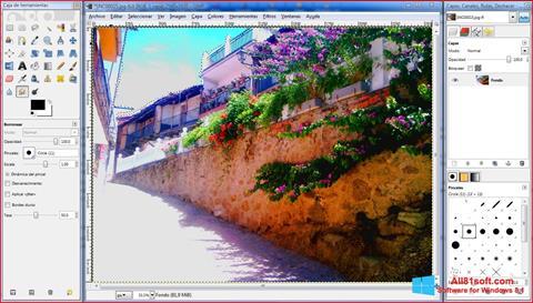 Képernyőkép GIMP Windows 8.1