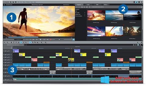 Képernyőkép MAGIX Movie Edit Pro Windows 8.1