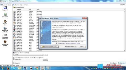 Képernyőkép BadCopy Pro Windows 8.1