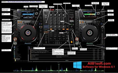 Képernyőkép Virtual DJ Windows 8.1