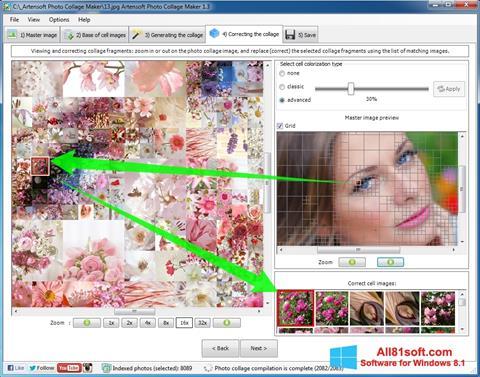 Képernyőkép Photo Collage Windows 8.1