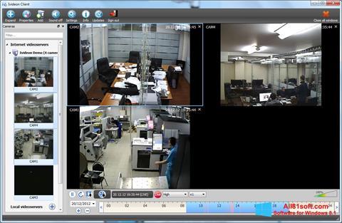 Képernyőkép Ivideon Server Windows 8.1