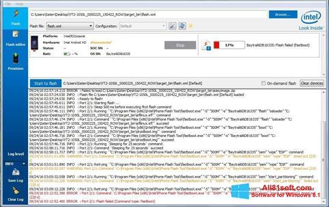 Képernyőkép FlashBoot Windows 8.1