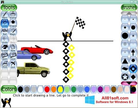 Képernyőkép Tux Paint Windows 8.1
