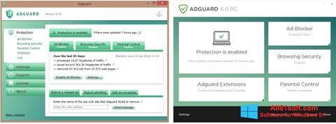 Képernyőkép Adguard Windows 8.1