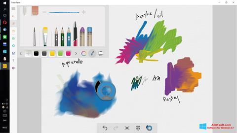 Képernyőkép Fresh Paint Windows 8.1