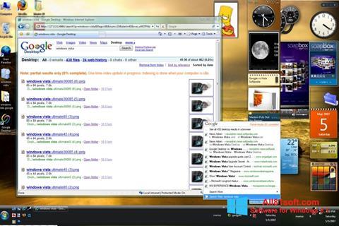 Képernyőkép Google Desktop Windows 8.1