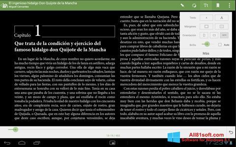 Képernyőkép BookReader Windows 8.1