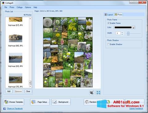 Képernyőkép CollageIt Windows 8.1