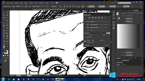 Képernyőkép Adobe Illustrator CC Windows 8.1
