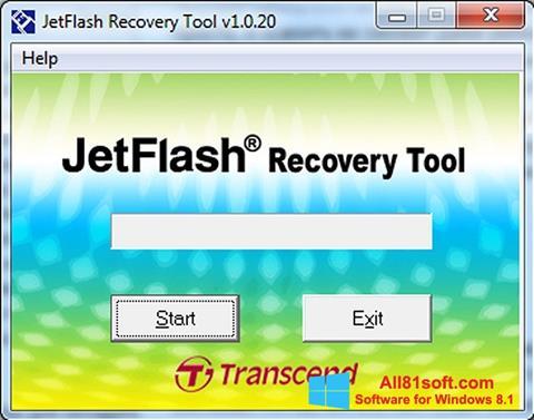 Képernyőkép JetFlash Recovery Tool Windows 8.1