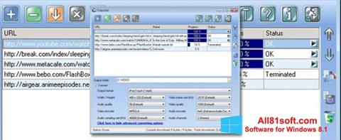 Képernyőkép VideoGet Windows 8.1