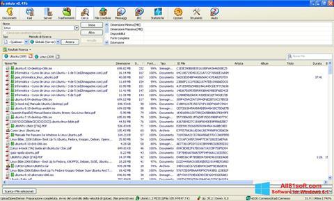 Képernyőkép eMule Windows 8.1