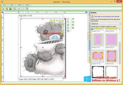 Képernyőkép PhotoMix Collage Windows 8.1